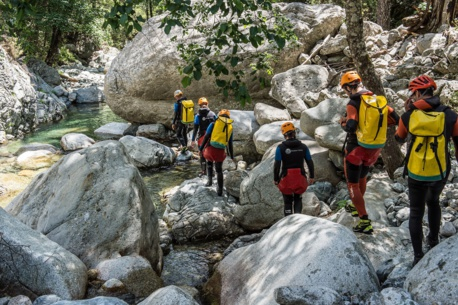Stage canyoning - 4 jours