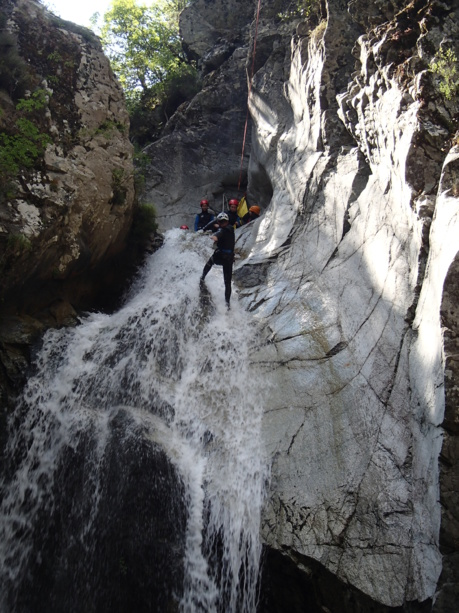 Stage canyoning 2019 - 6 jours