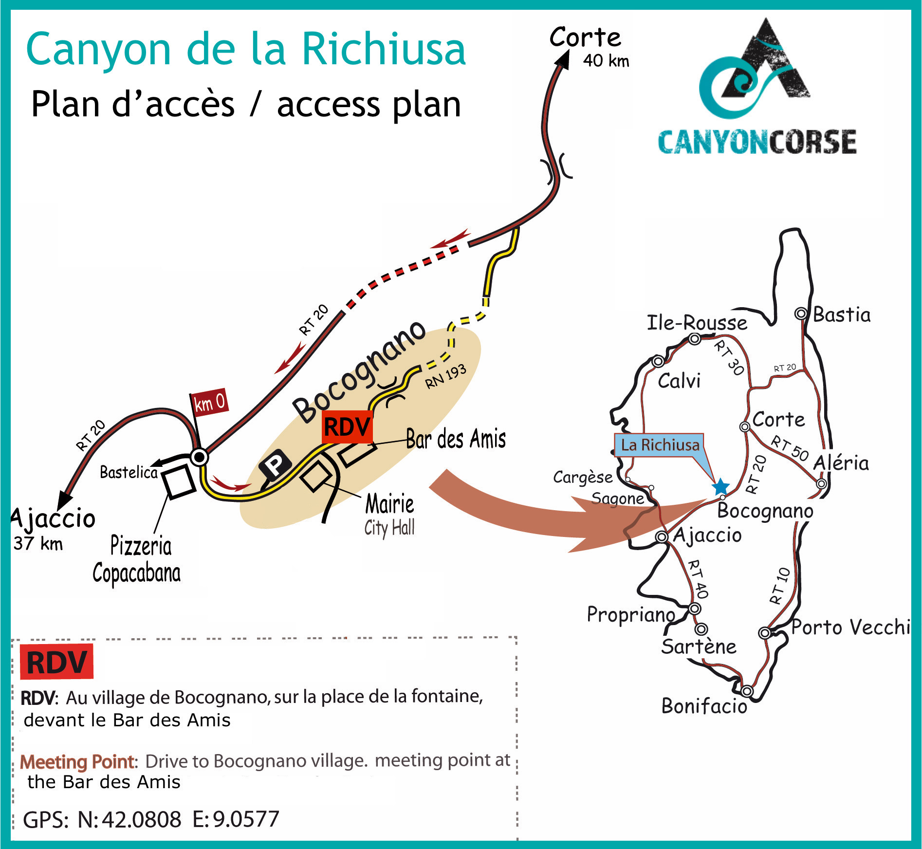 Le Canyon de la Richiusa